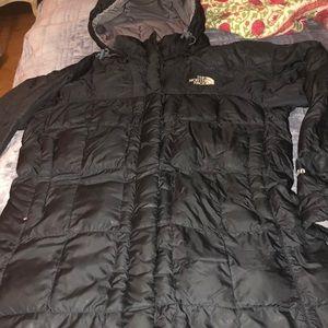 North face jacket long use